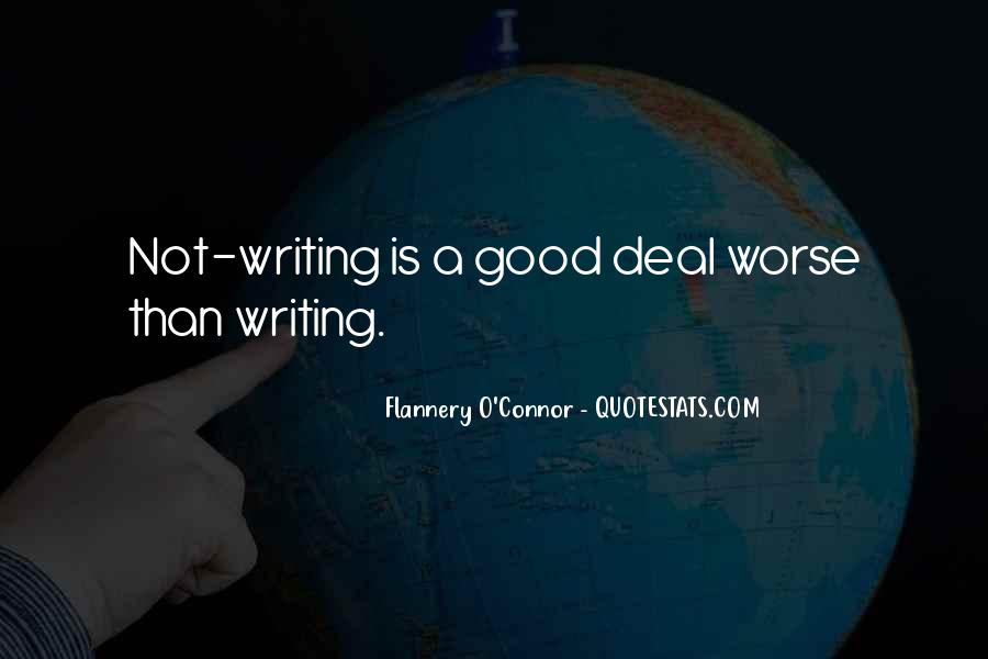 Flannery O'connor Writing Quotes #696241
