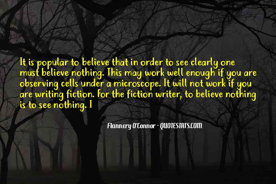 Flannery O'connor Writing Quotes #805096