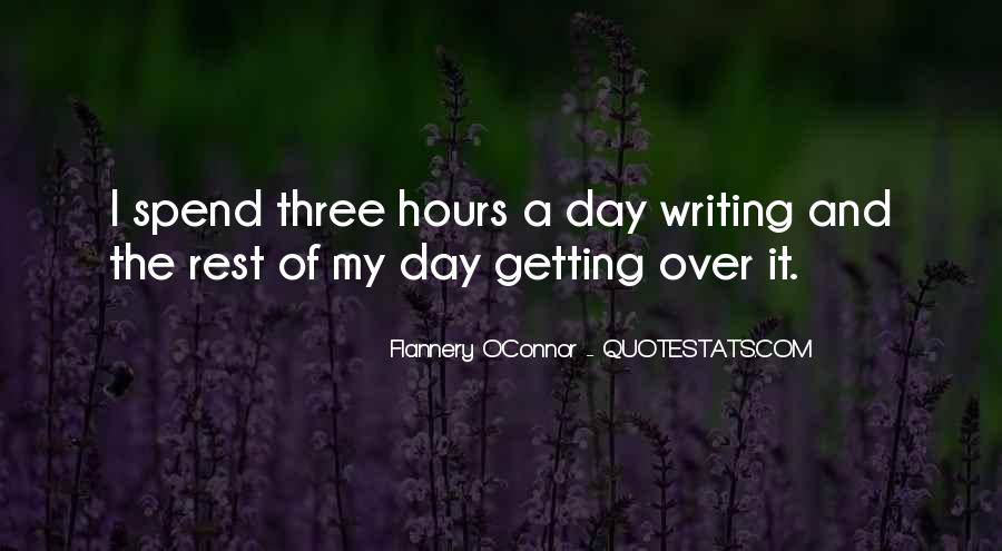 Flannery O'connor Writing Quotes #911849