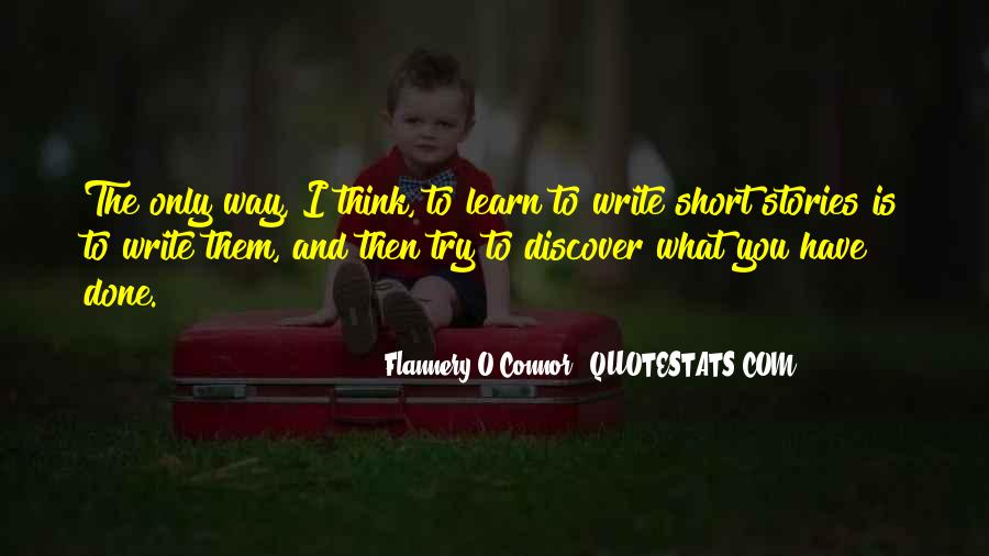 Flannery O'connor Writing Quotes #963740