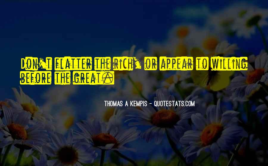 Flatter Quotes #157137