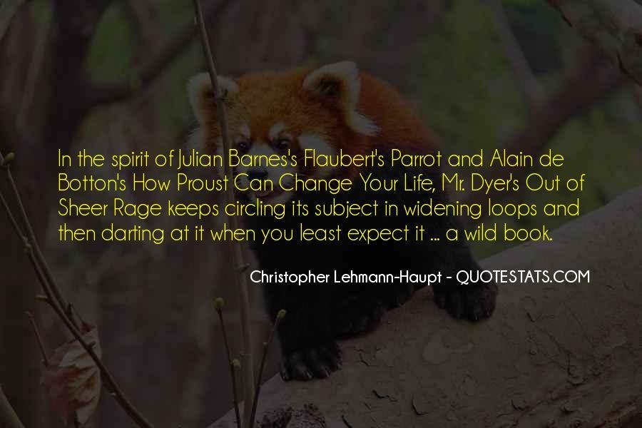 Flaubert's Parrot Quotes #87182