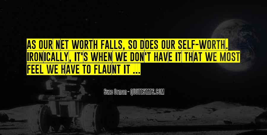 Flaunt Money Quotes #1338680