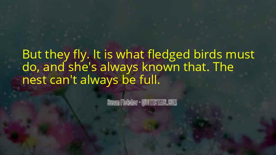 Fledgling Quotes #1718950