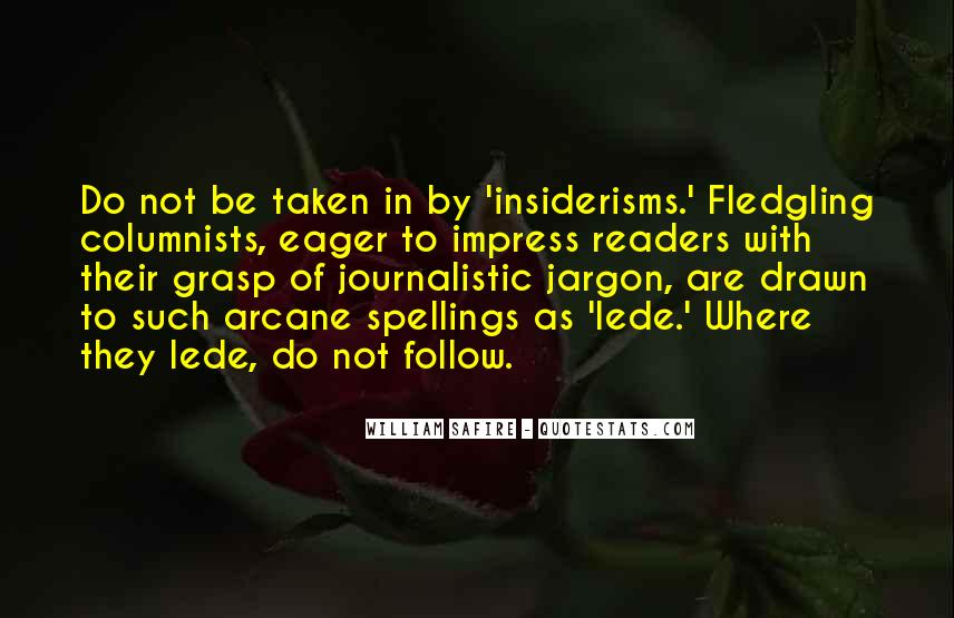 Fledgling Quotes #422690