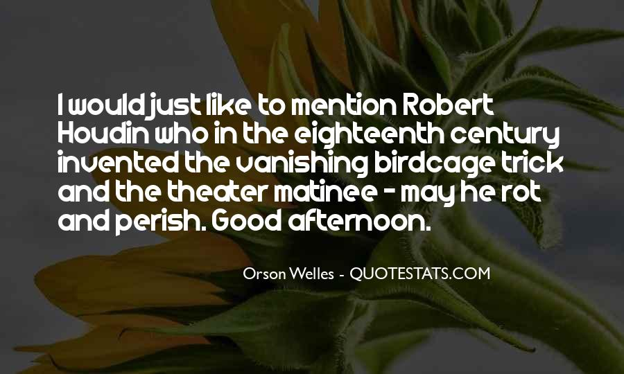 Quotes About Having A Good Afternoon #1061322