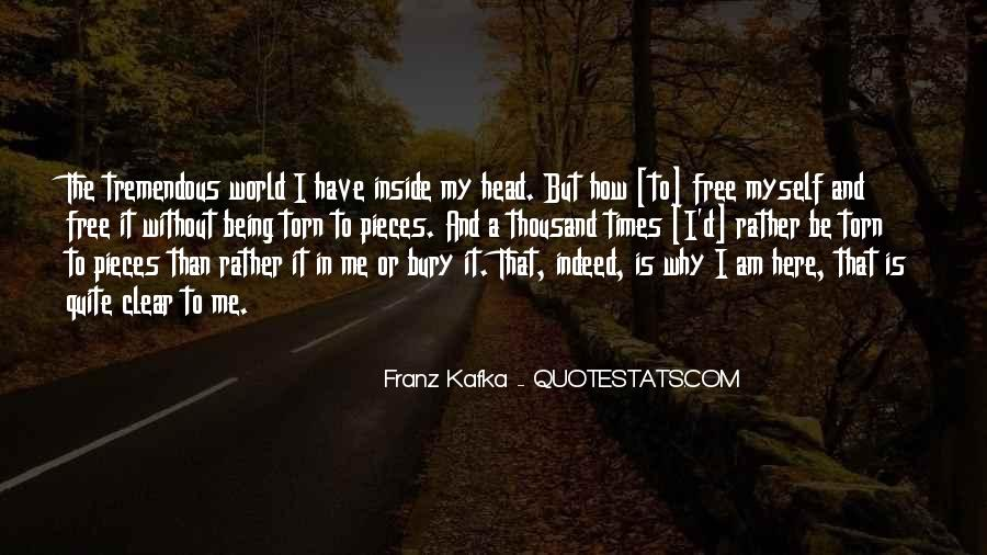 Quotes About Having A Clear Head #128580