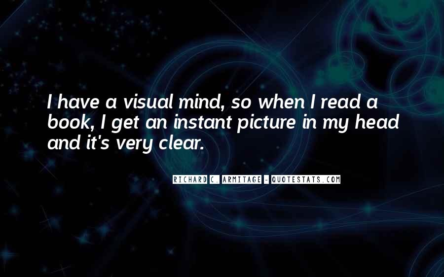 Quotes About Having A Clear Head #149428