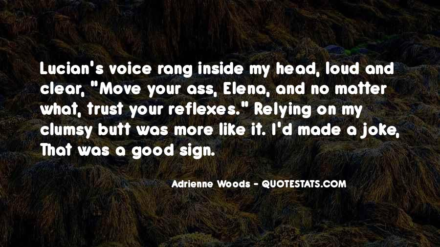Quotes About Having A Clear Head #179820