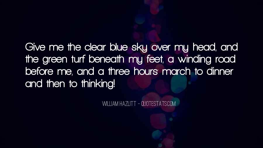 Quotes About Having A Clear Head #188378