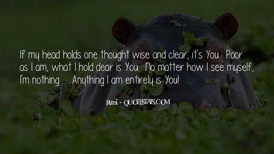 Quotes About Having A Clear Head #382008