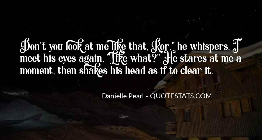 Quotes About Having A Clear Head #80976