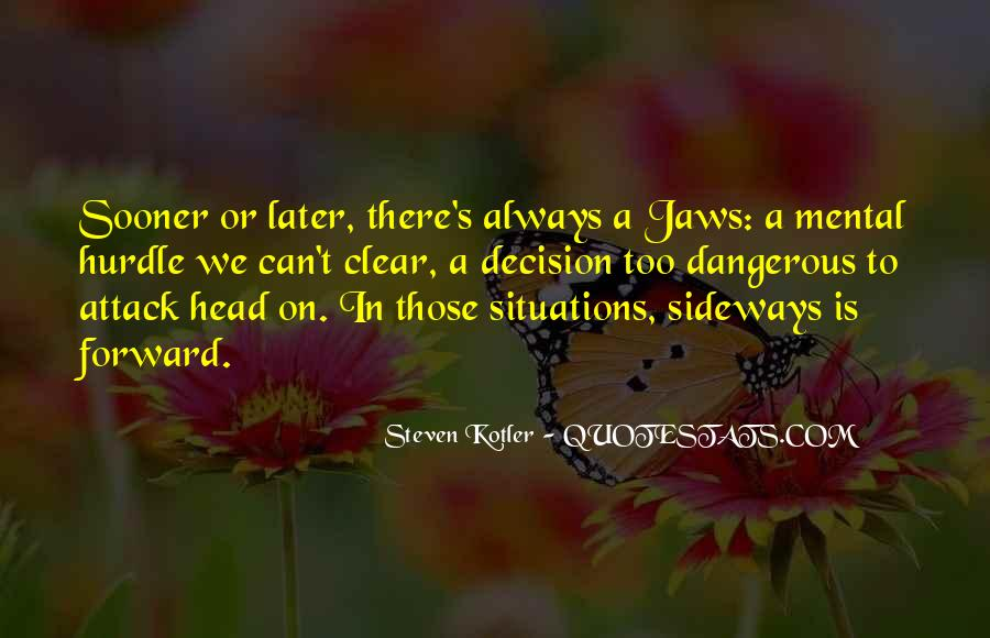 Quotes About Having A Clear Head #88017