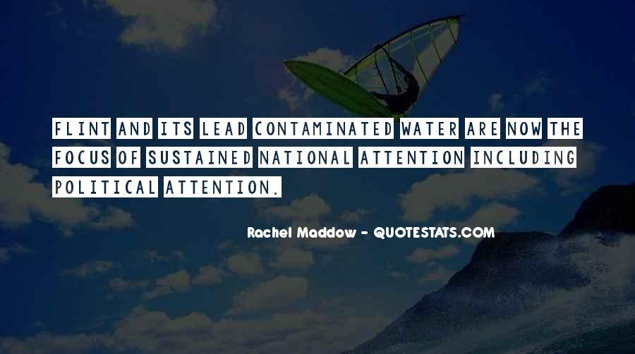 Flint Water Quotes #1786261