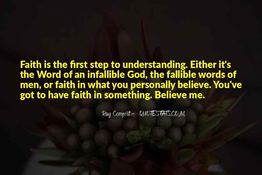 Quotes About Have Faith In Me #717190