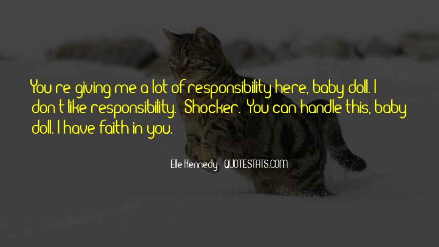 Quotes About Have Faith In Me #965940