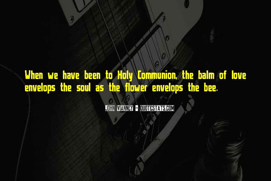 Flower And Bee Quotes #1154164