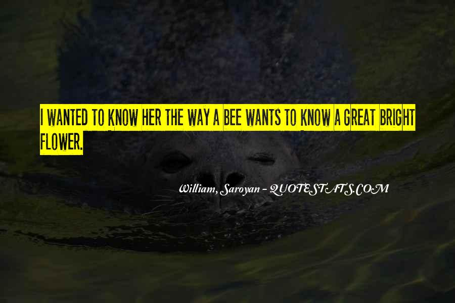 Flower And Bee Quotes #1165438