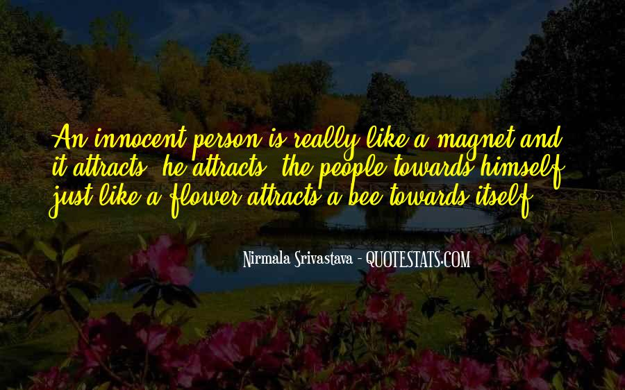 Flower And Bee Quotes #117998