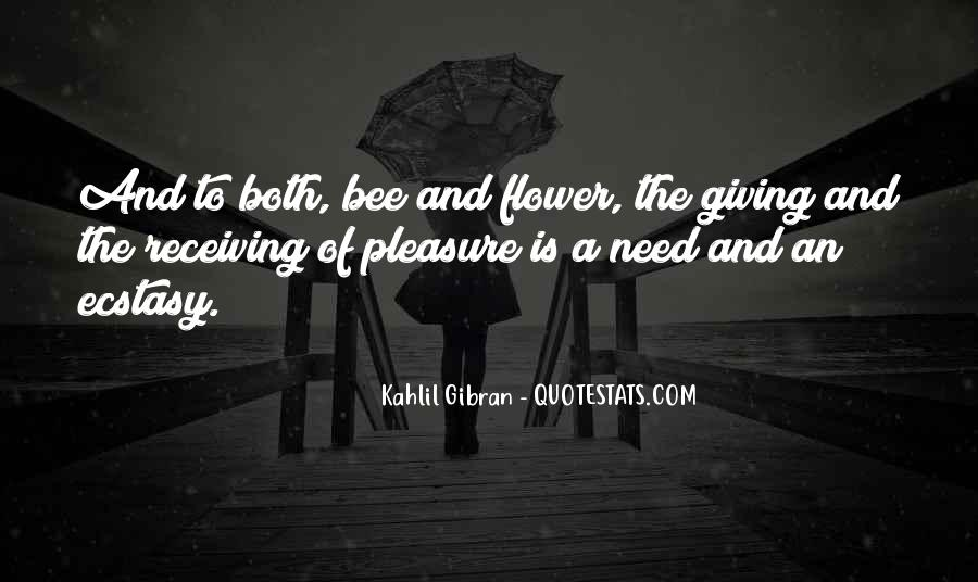 Flower And Bee Quotes #1191883
