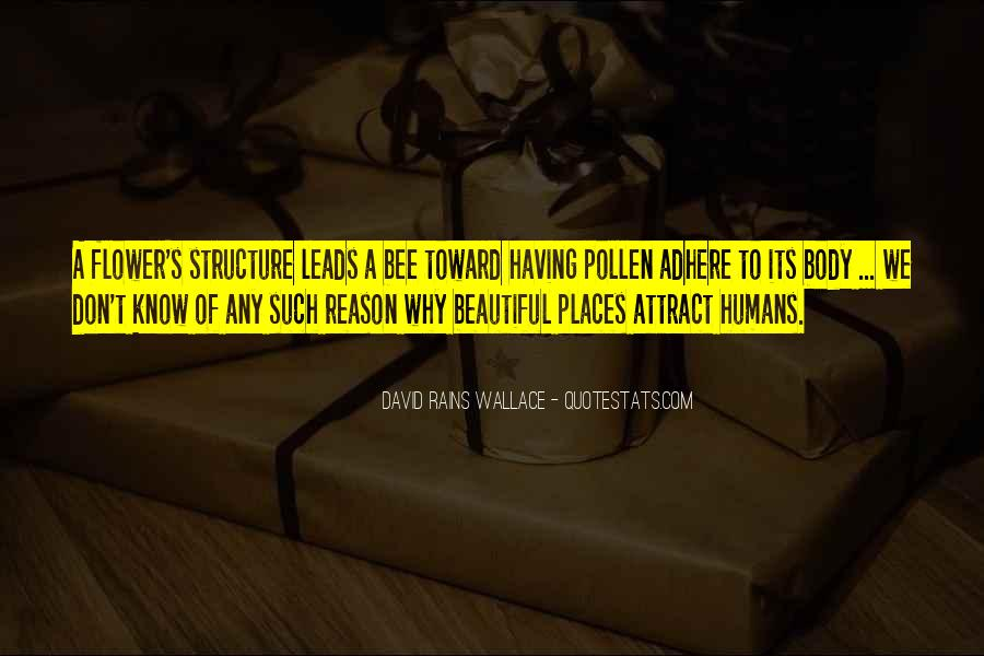 Flower And Bee Quotes #1212950