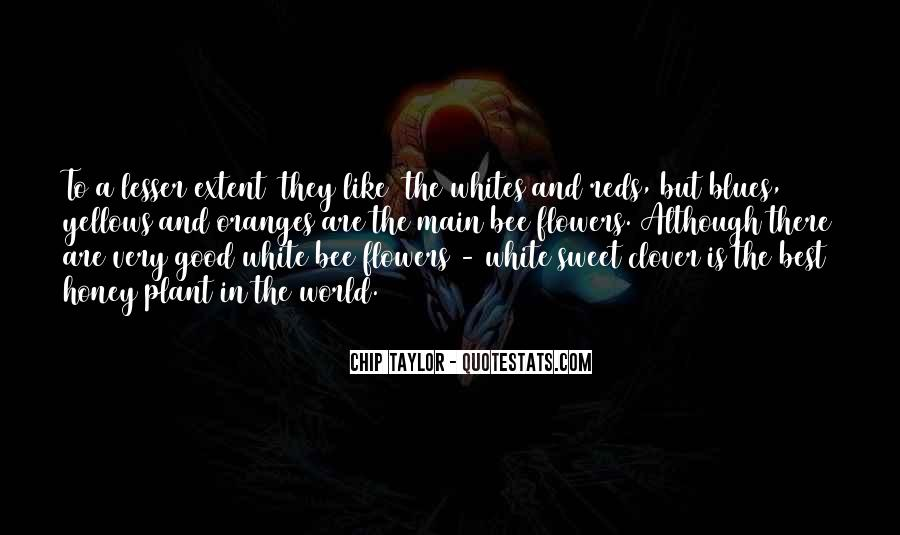 Flower And Bee Quotes #132755