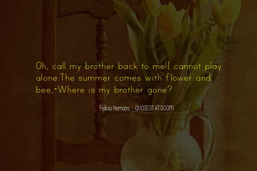 Flower And Bee Quotes #1830270