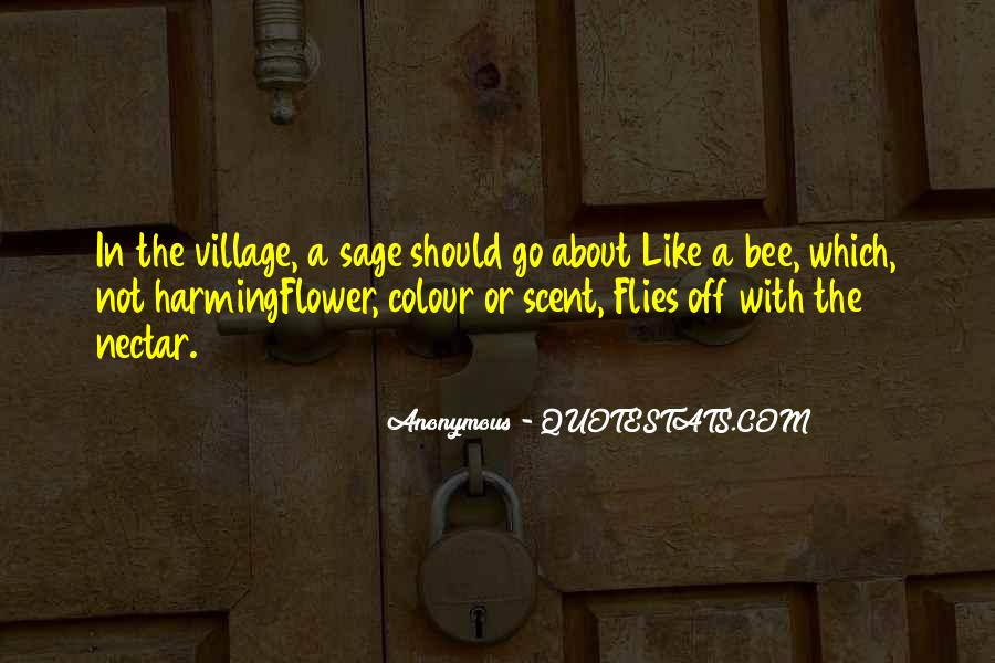 Flower And Bee Quotes #471986