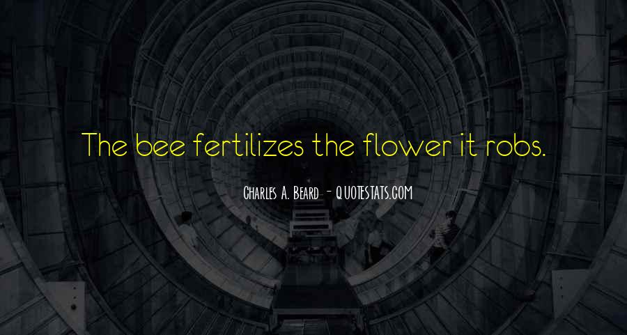 Flower And Bee Quotes #565740