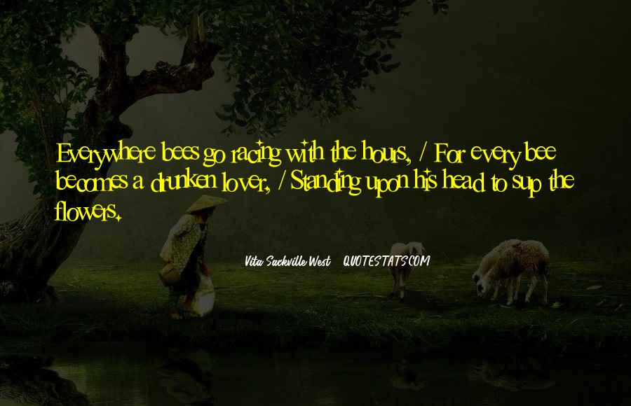 Flower And Bee Quotes #739070