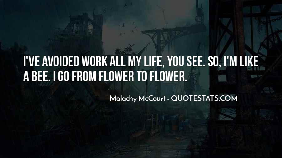 Flower And Bee Quotes #776785