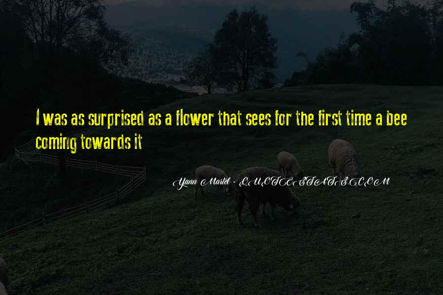 Flower And Bee Quotes #879100
