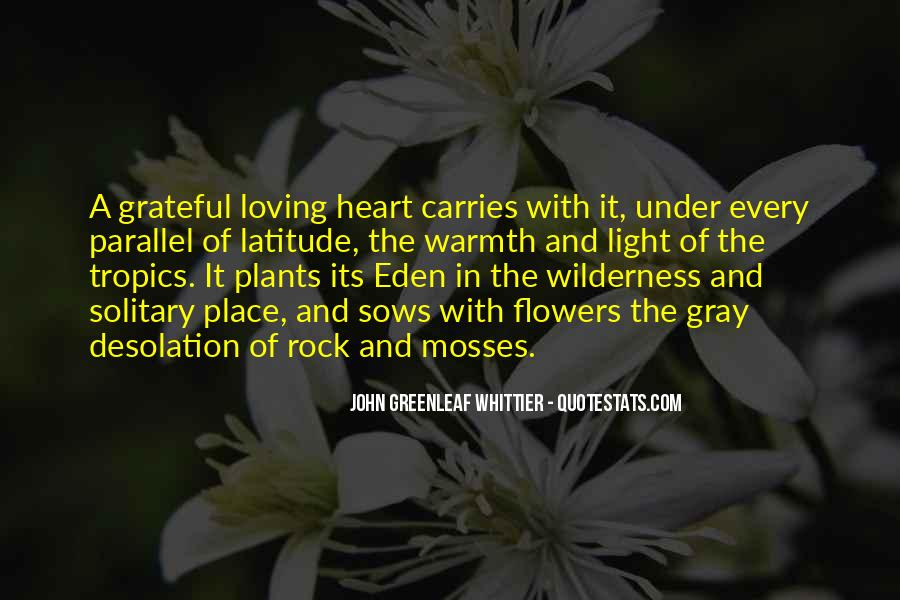 Flowers And Plants Quotes #1195866