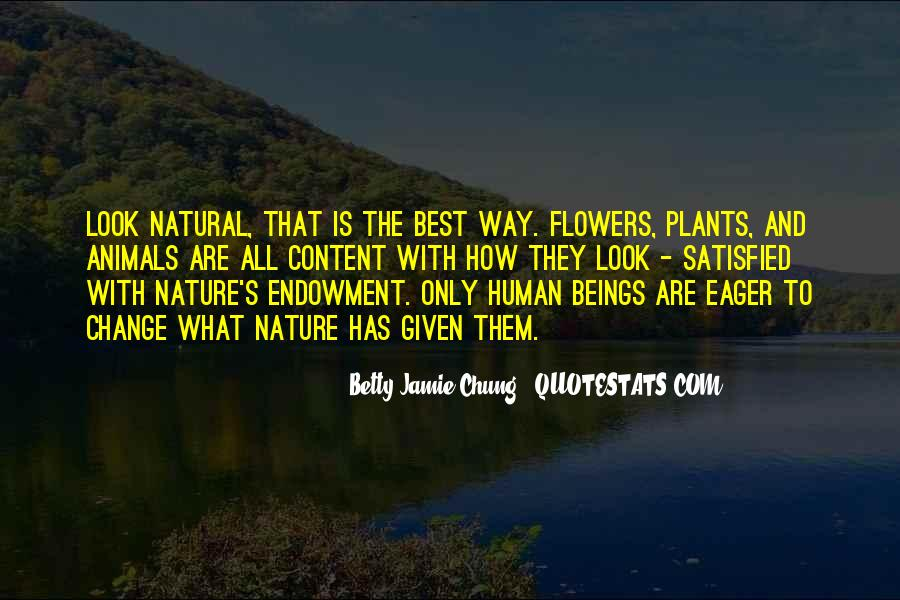 Flowers And Plants Quotes #1859888