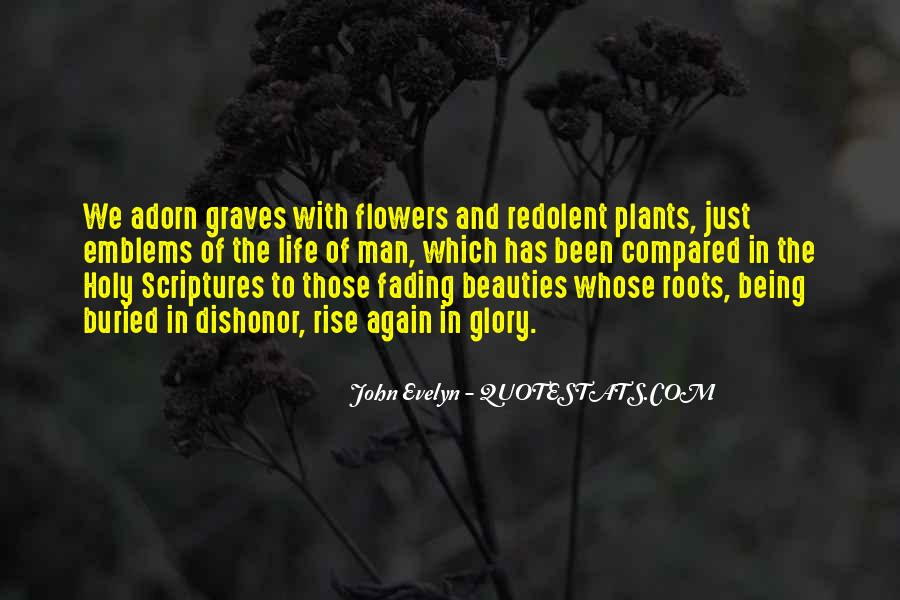 Flowers And Plants Quotes #281374