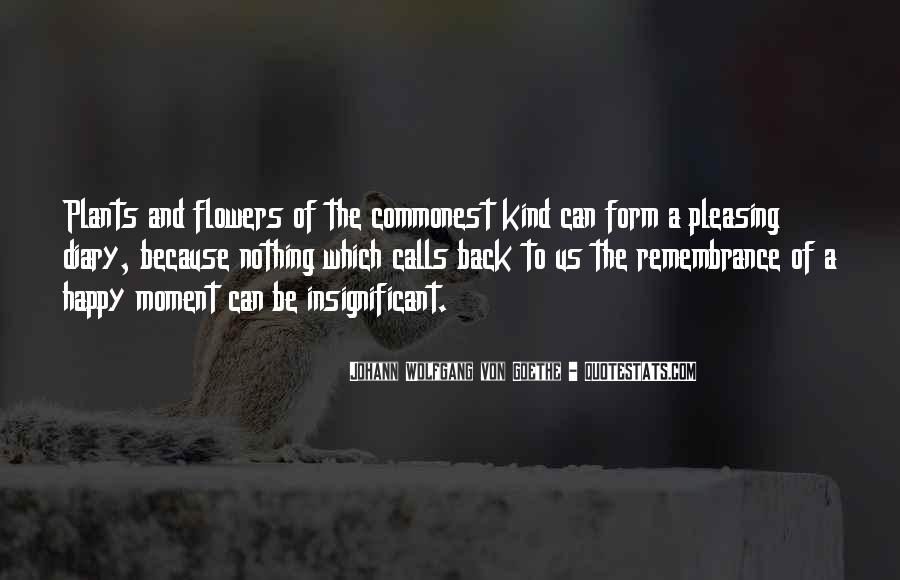 Flowers And Plants Quotes #386313
