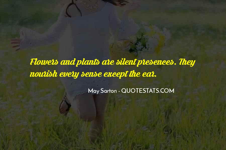 Flowers And Plants Quotes #473060