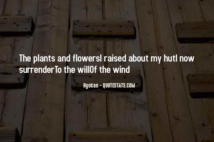 Flowers And Plants Quotes #73155