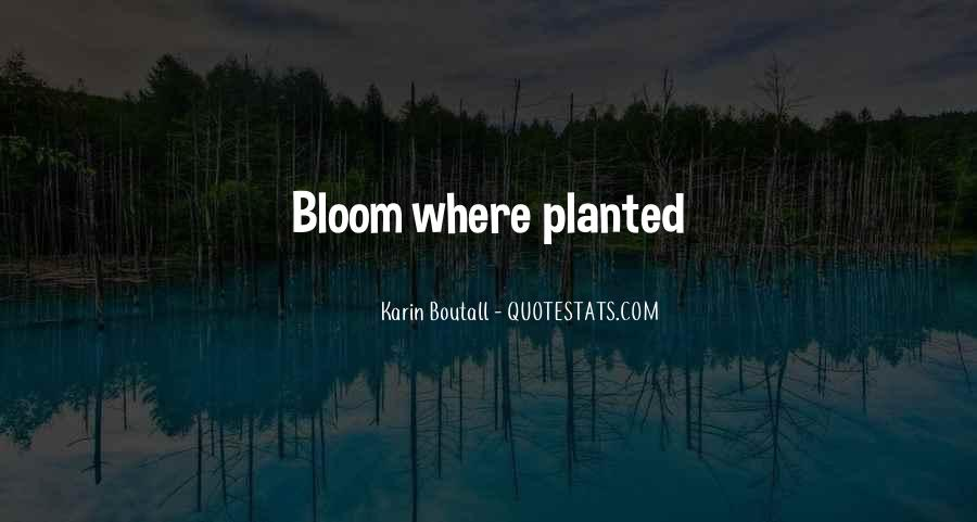Flowers And Plants Quotes #962281