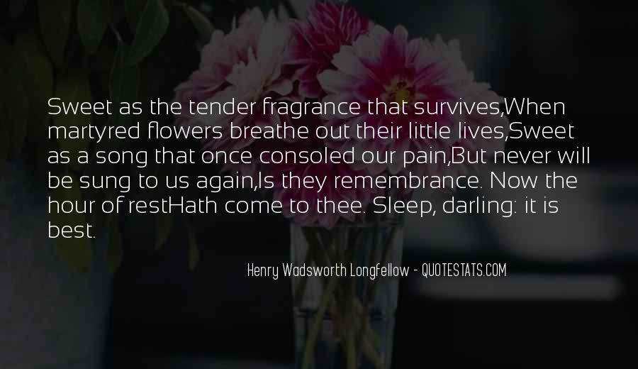 Flowers Of Quotes #105859