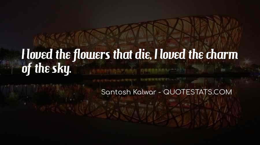 Flowers Of Quotes #44617