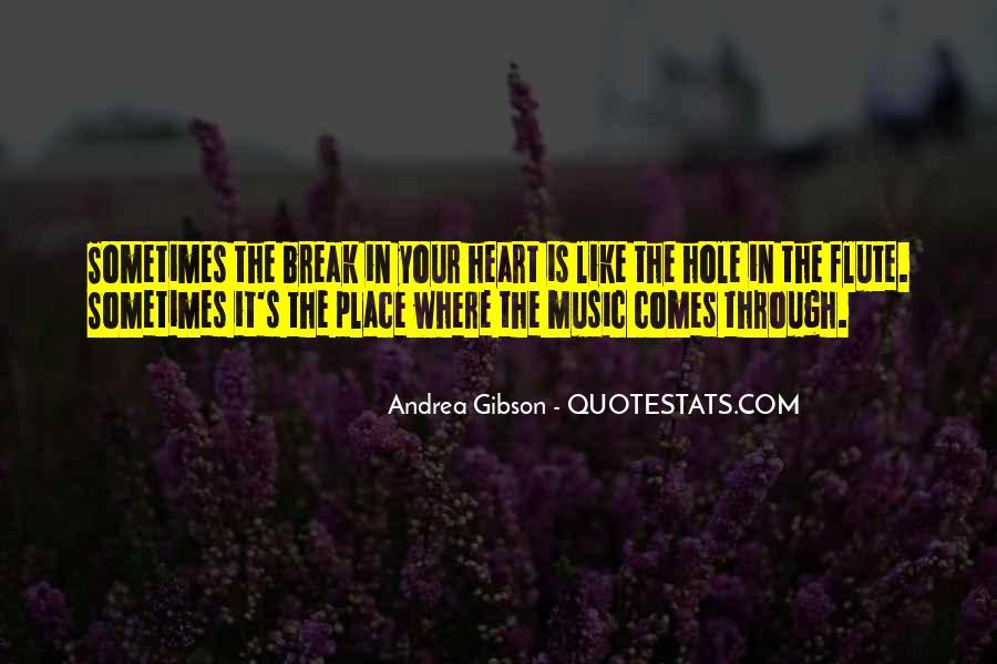 Flute Quotes #1062669
