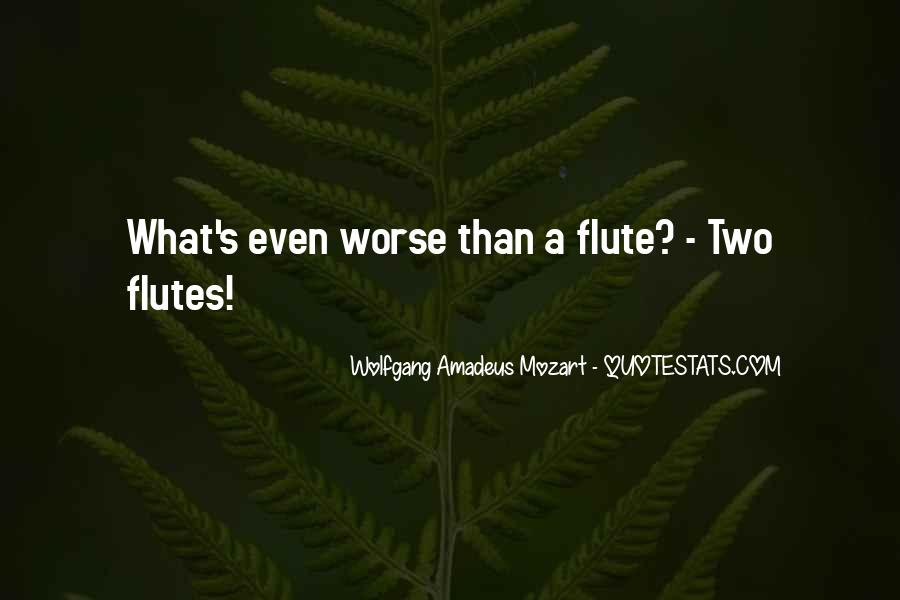 Flute Quotes #1167096