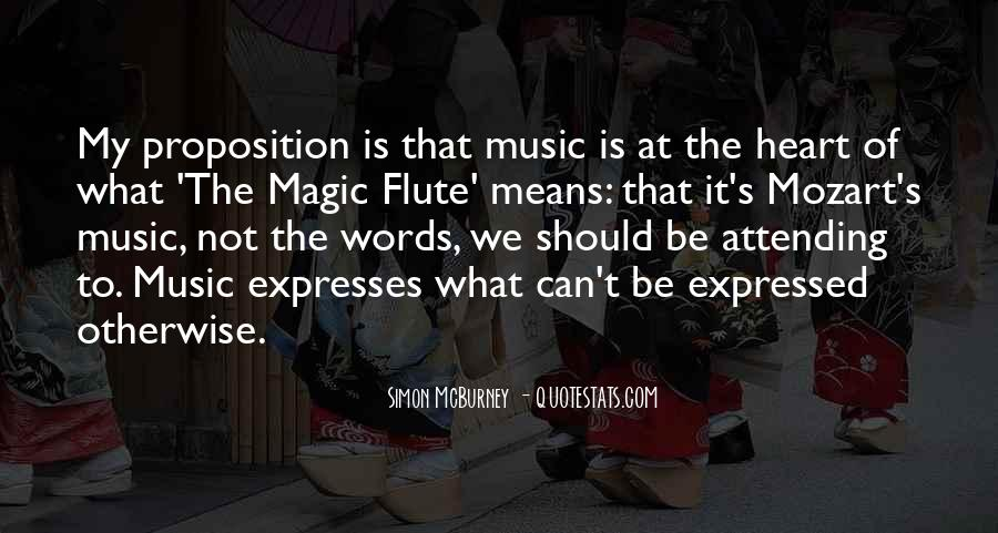 Flute Quotes #210158