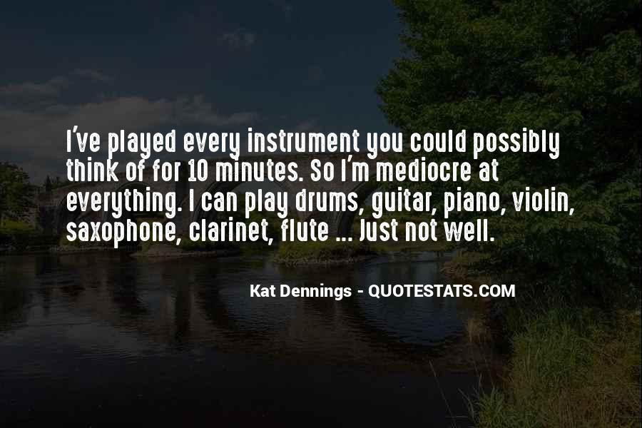 Flute Quotes #222626