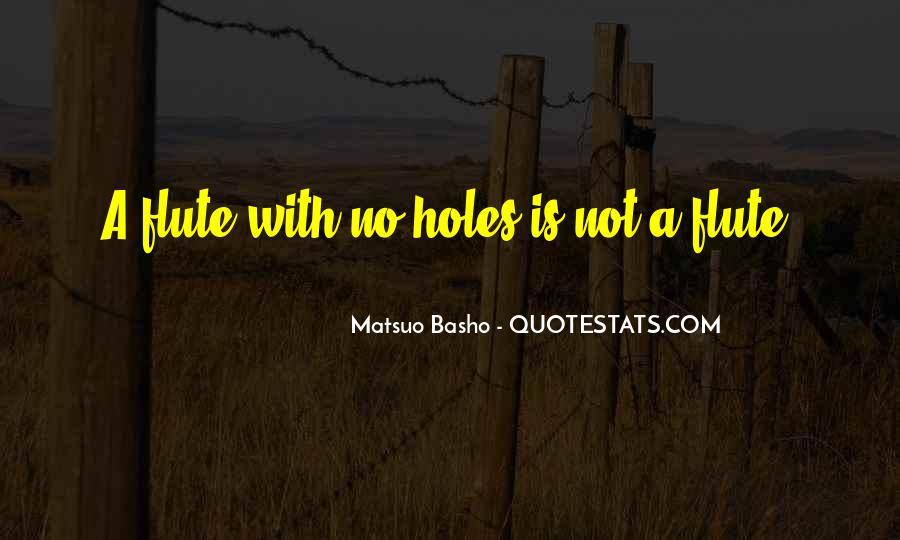 Flute Quotes #436035