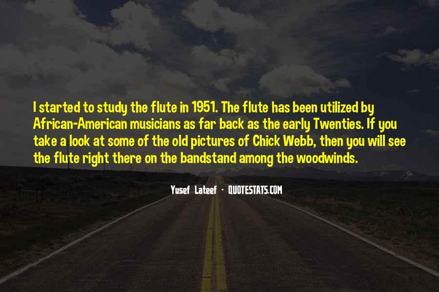 Flute Quotes #998669