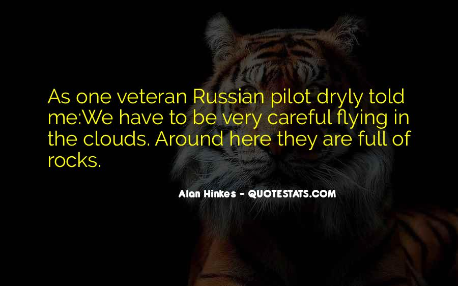 Flying Over Clouds Quotes #1171616