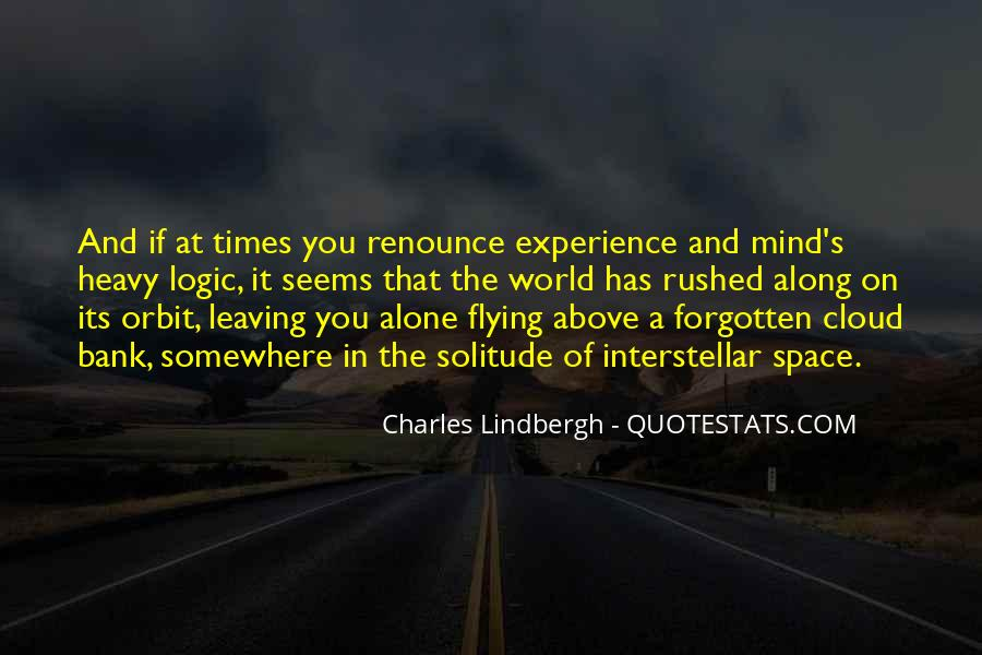 Flying Over Clouds Quotes #1417768
