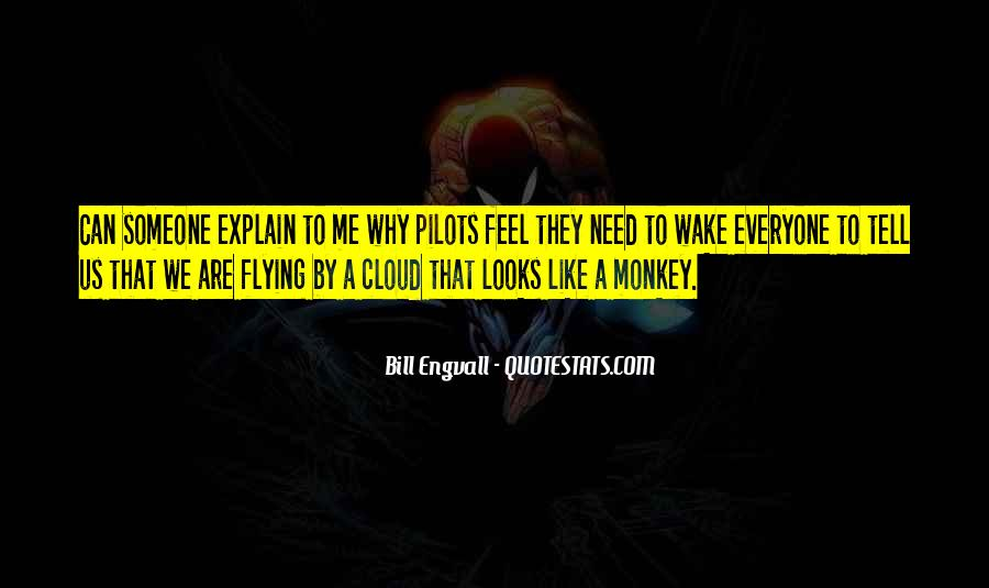 Flying Over Clouds Quotes #1503312